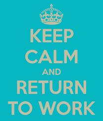 return to work WLB